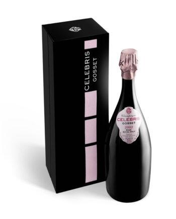 Gosset Celebris Rose Extra Brut 75cl giftbox
