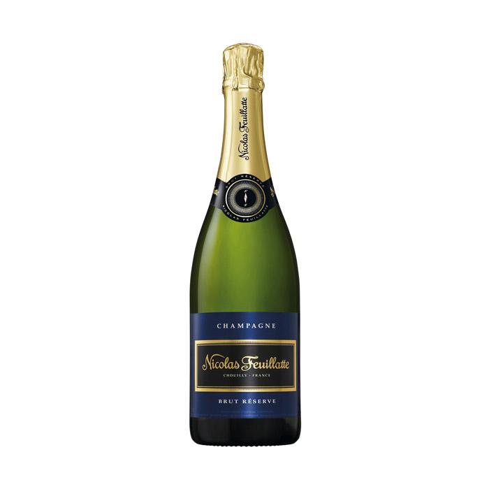 Nicolas Feuillatte Champagne Brut Reserve 75cl