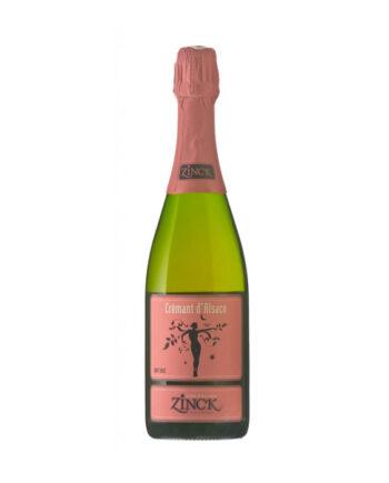 Zinck Cremant d'Alsace Brut Rose 75cl