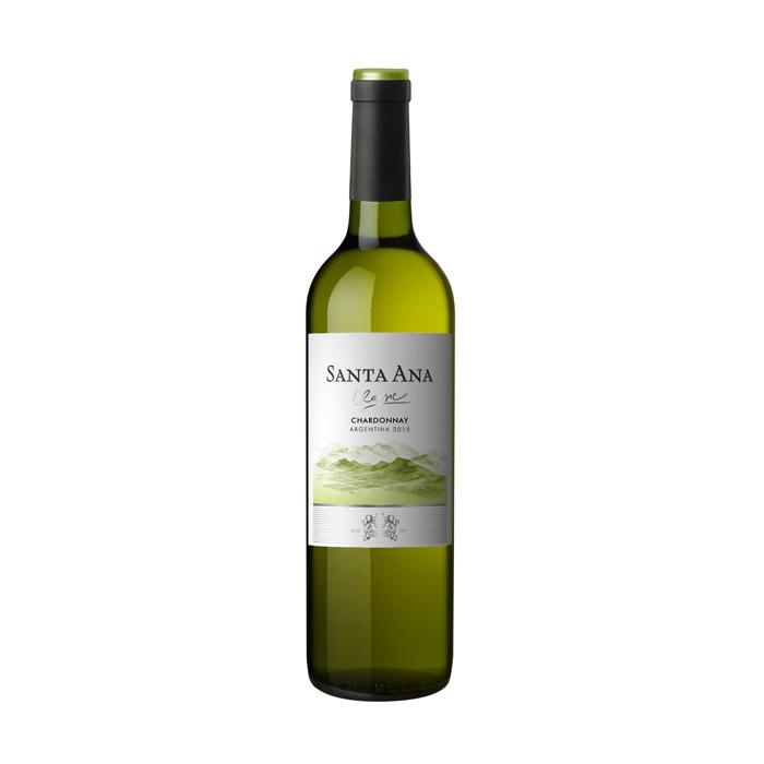 Santa Ana Chardonnay 2015 ja 2016 75cl