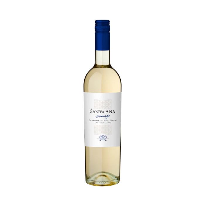 Santa Ana Homage Chardonnay Pinot Grigio 2015 ja 2016 75cl