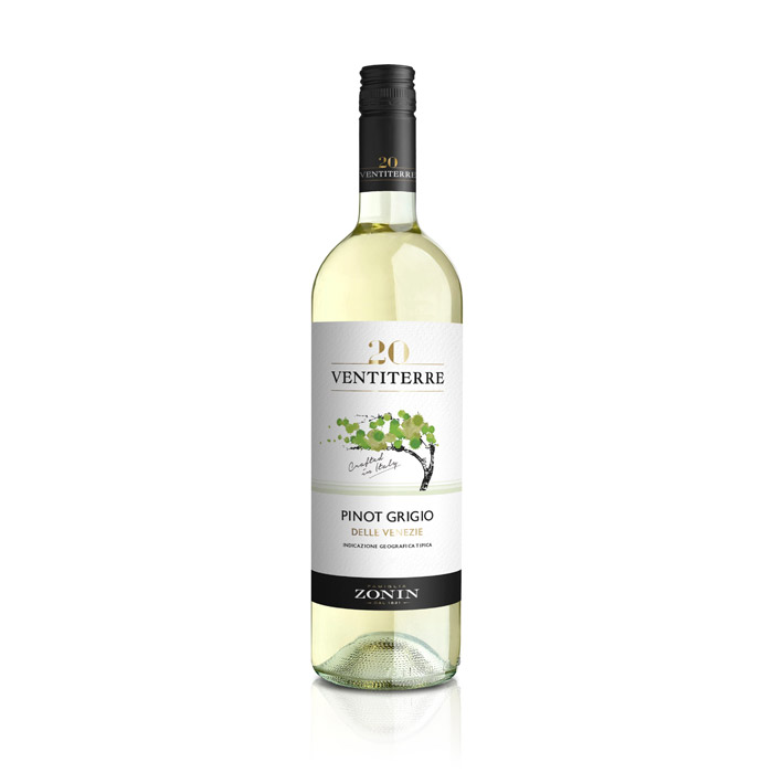 Zonin Ventiterre Pinot Grigio IGT 2016 75cl