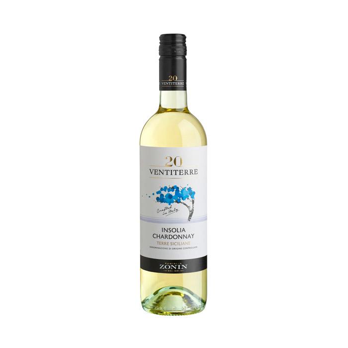 Zonin Ventiterre Insolia Chardonnay IGT 2016 75cl