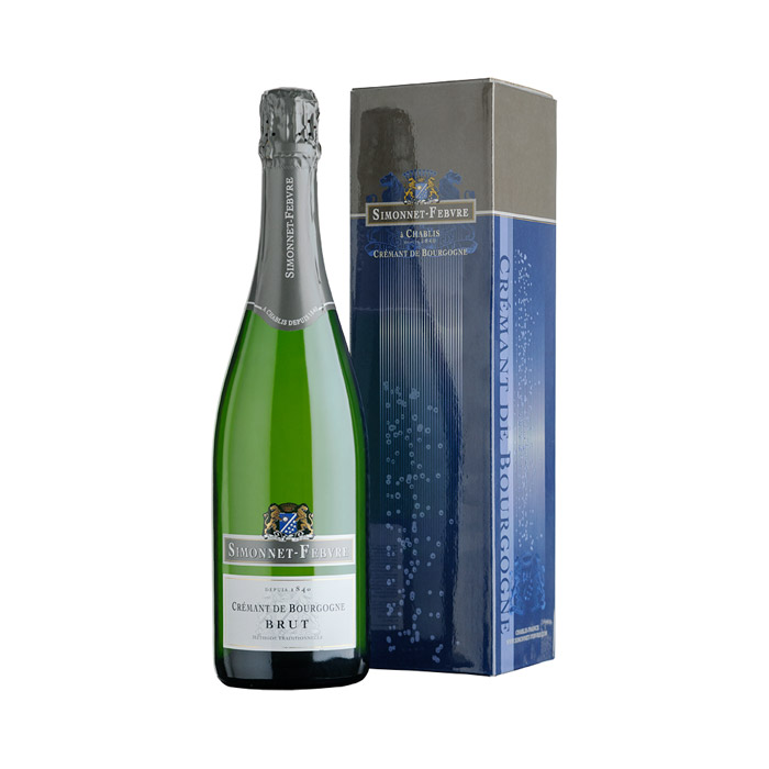Simonnet-Febvre Cremant de Bourgogne Blanc Box