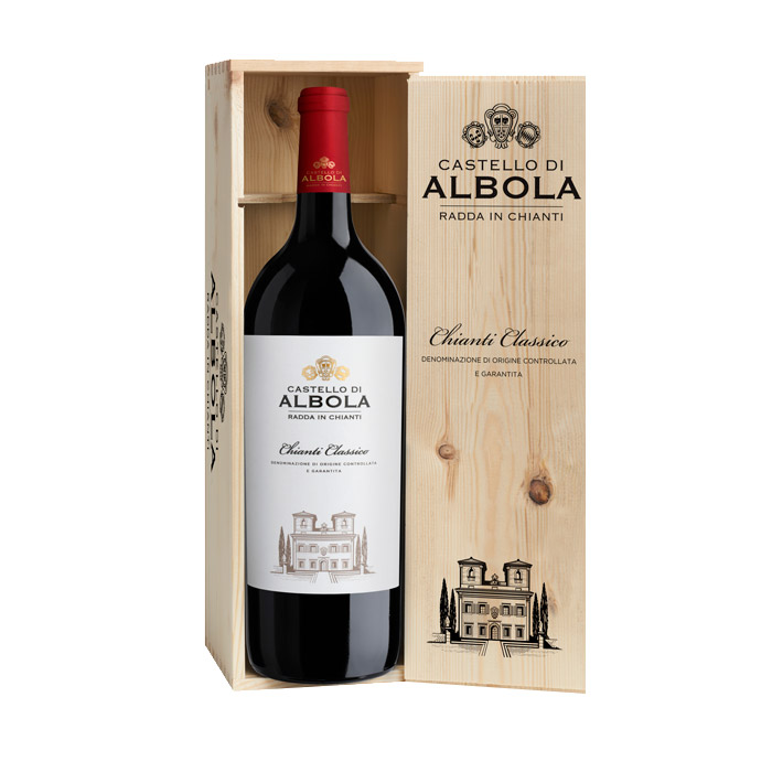 Castello d'Albola Chianti Classico DOCG 2013 150cl Puitkarbis