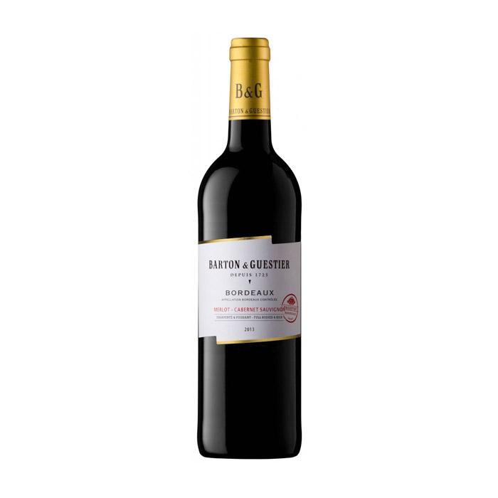 B&G Bordeaux Rouge Merlot Cabernet Sauvignon AOP 2015 75cl