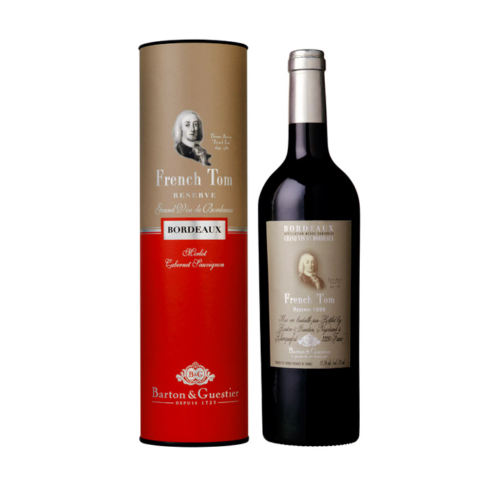 B&G French Tom Reserve Bordeaux Rouge AOP 2014 ja 2015 75cl Tuubis