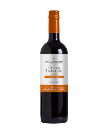 Santa Carolina Cellar Selection Carmenere 2015 ja 2016 75cl