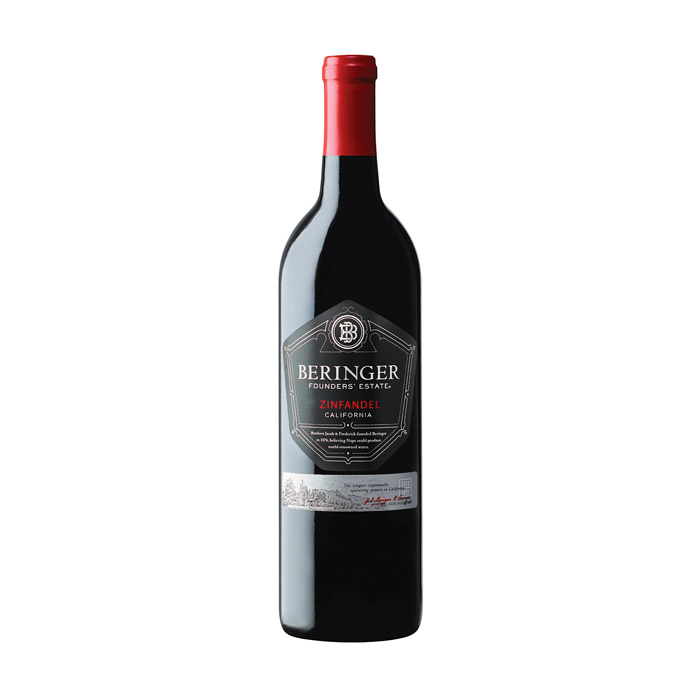 Beringer Founder's Estate Zinfandel 2015 75cl