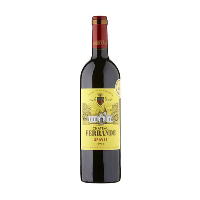 Chateau Ferrande Rouge, Graves 2012 75cl