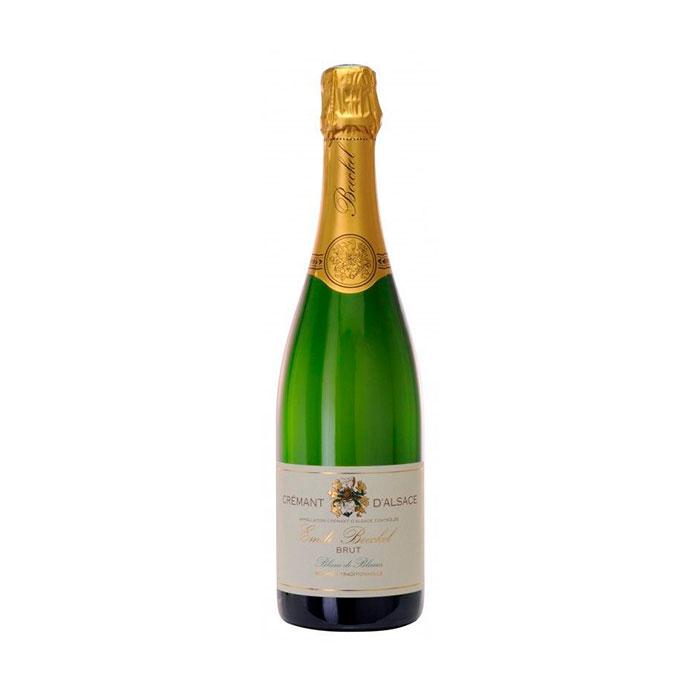 Emile Boeckel Cremant d'Alsace Brut Blanc de Blanc 2014 75cl