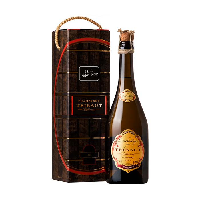 L'Authentique par Tribaut Schloesser la Romery Brut 2008 75cl