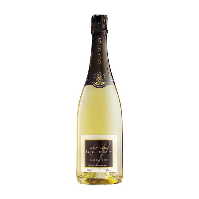 Champagne Brut Grand Cru, Louis De Sacy 37,5cl
