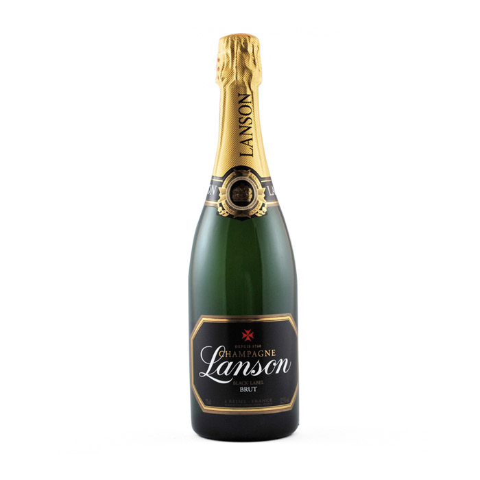 Lanson Champagne, Black Label, Brut 20cl